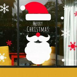 tm121-크리스마스메리산타그래픽스티커