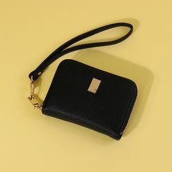 라템 눈꽃 여자카드지갑 블랙(AG2C8812DABB)