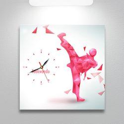 ct270-아이러브스포츠노프레임벽시계