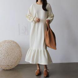 Gimo Frill Long Dress