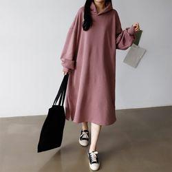 Gimo Hoodie Boxy Dress