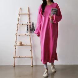 Gimo Boxy Long Dress