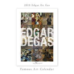 [2019 명화 캘린더] Edgar De Gas 에드가 드가 Type B