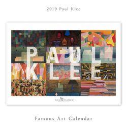 [2019 명화 캘린더] Paul Klee 파울 클레 Type A