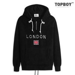 [탑보이] 런던 인조양털 오버핏 후드티 (PN011)