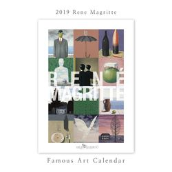 [2019 명화 캘린더] Rene Magritte 르네 마그리트 Type B