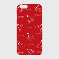 [하드케이스] Pattern cherry-red