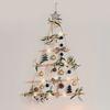 인테리어 소품 크리스마스 행잉 우드 벽트리 올리브 블랙