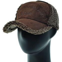 [더그레이]EJO05.남성 인조 무스탕 귀달이 등산 모자