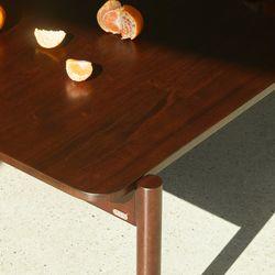 아크 폴딩 테이블 - 라지 와이드 (3컬러)