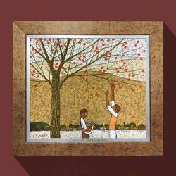 감사의계절 풍수지리 그림액자 유화그림 화가그림