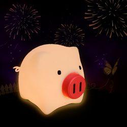 모두 잘 돼지 골든피기 금옥이 LED 무드등(기프트백)