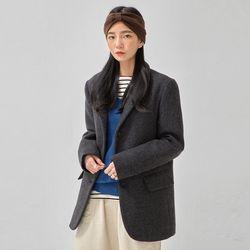 urban herringbone wool jacket
