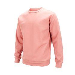 플레인 라운드 기모 맨투맨 인디핑크 티셔츠AJM010