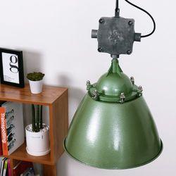 피오네 펜던트-그린 + LED전구