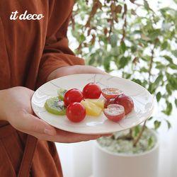 마블 골드라인 원형 접시 1호