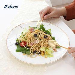 마블 골드라인 원형 접시 3호