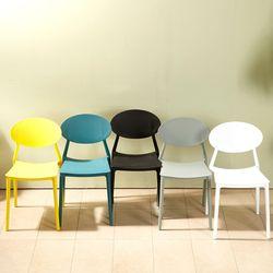 심플 라인 등받이 의자 430