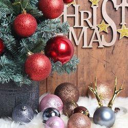 크리스마스 트리 장식볼 30p set(5color)