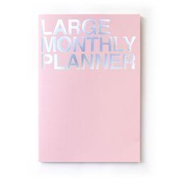 라지먼슬리 플래너 핑크