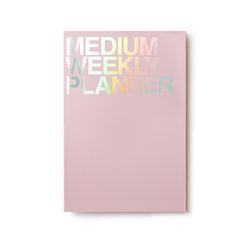 미디움위클리 플래너 핑크