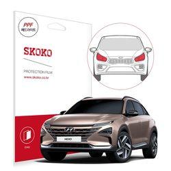 스코코 현대 2018 넥쏘 헤드라이트 자동차 PPF 보호필름
