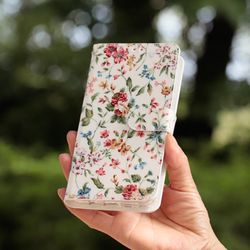 LG Q8 2018 (LG Q815) Jardin 지갑 다이어리 케이스