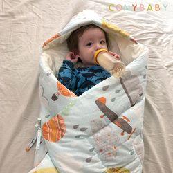[CONY]꿈나라신생아사계절겉싸개(블루)