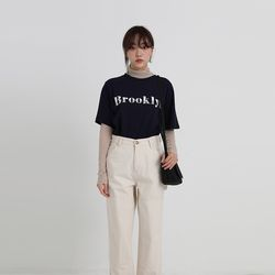 brooklyn cotton tee (4colors)