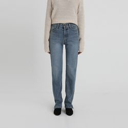 slit long straight jean