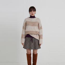 bear wool stripe knit (3colors)