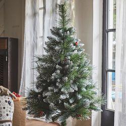 노스아일랜드 크리스마스트리 무장식 스노우트리 1.3m