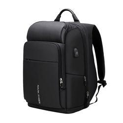 마크라이든 USB충전 백팩 노트북가방 여행가방 MR0037B-Lsize