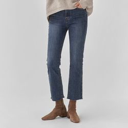 coco semi boots cut denim pants (25-29)