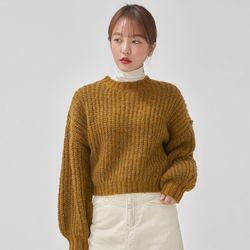 mohair hazzi crop knit