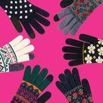 위글위글 스마트폰 터치 장갑 touch gloves (6종)