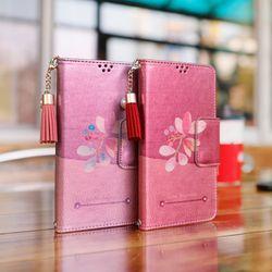 LG X4 (LG X410) Perla-QChasse-T 지갑 다이어리 케이스