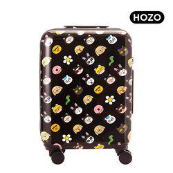 [HOZO] 시니컬래빗과 친구들 패턴 캐리어 20인치 기내용