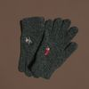 Christmas in Chosun gloves (wool)(charcoal)