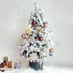 찰리앤브라운 크리스마스 트리 90cm 풀세트 + 앵두전구50구2개