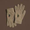 Christmas in joseon gloves (wool)(beige)