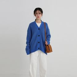 brush loose cardigan (4colors)