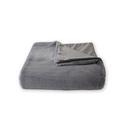 소프트 fur 무릎담요 gray 75x85