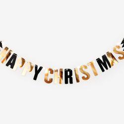 반짝이는 크리스마스 가랜드 + 조명 set