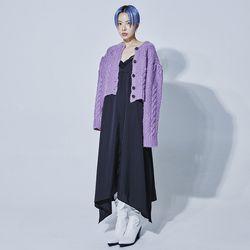 vintage crochet cardigan (5 color)