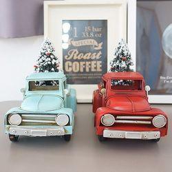 크리스마스 트리 자동차(2color)
