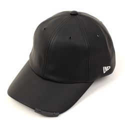 Leather Iron Bar Ballcap 가죽볼캡