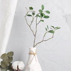 미니 그린 리프 나무가지 조화