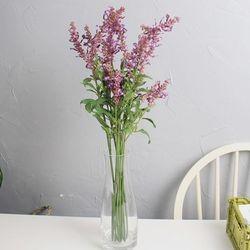 라벤더 가지 2color 조화 꽃화분 장식