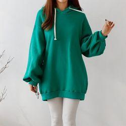 Double Gimo Hoodie Puff Sweatshirt